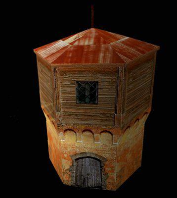 Водонапорная башня для trainz